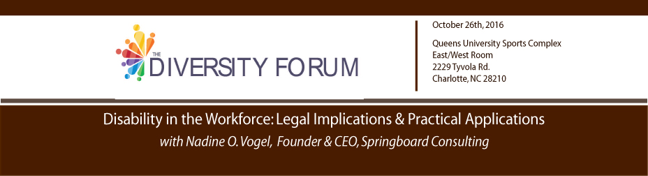 Disability in the Workforce: Legal Implications & Practical Applications