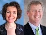 NICHQ's newest board members, Cristin Lind and Scott O'Gorman