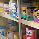 Infant formula under lock and key