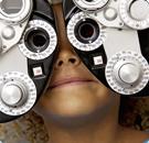 Girl Getting Eye Exam