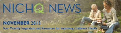 NICHQ News Banner November 2015