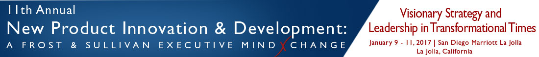 11th Annual New Product Innovation & Development: A Frost & Sullivan Executive MindXchange