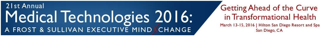 21st Annual Medical Technologies: A Frost & Sullivan Executive MindXchange