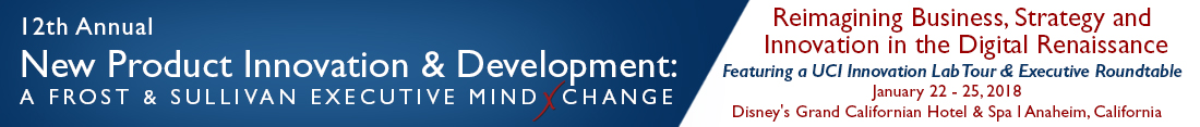 12th Annual New Product Innovation & Development: A Frost & Sullivan Executive MindXchange