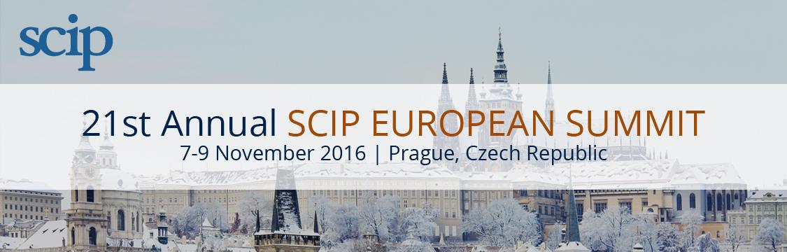 21st Annual SCIP European Summit