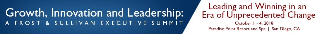Growth, Innovation and Leadership: A Frost & Sullivan Executive Summit
