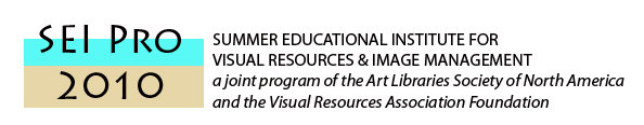 Summer Educational Institute for Visual Resources and Image Management Housing Accommodations