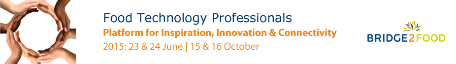 Bridge2Food - Food Technology Professionals Platform 2015