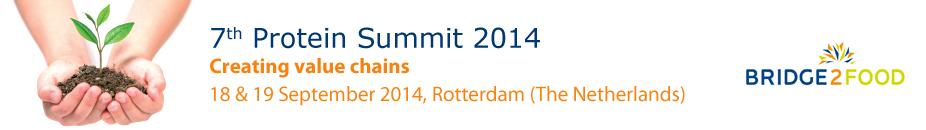 Bridge2Food - 7th Protein Summit 2014