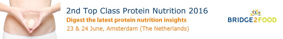Bridge2Food - Top Class Protein Nutrition 2016