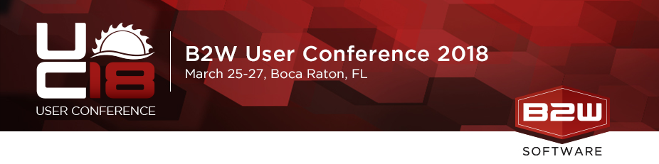 B2W Software's User Conference 2018