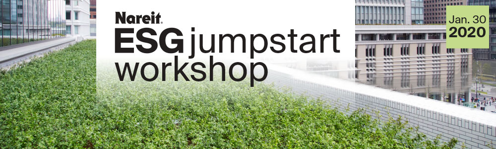Nareit ESG Jumpstart Workshop