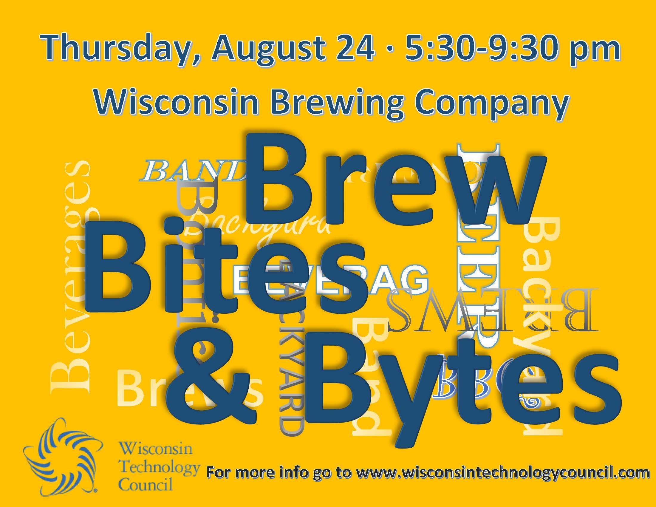Brew, Bites & Bytes Logo 2017
