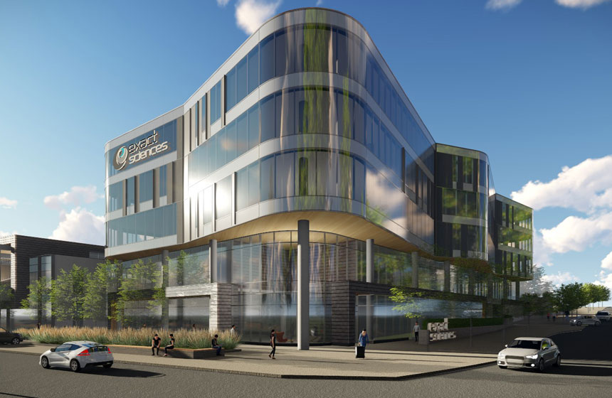 Exact Sciences rendering