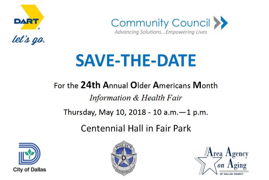 The 24th Annual Older Amer Info & Health Fair5.10.