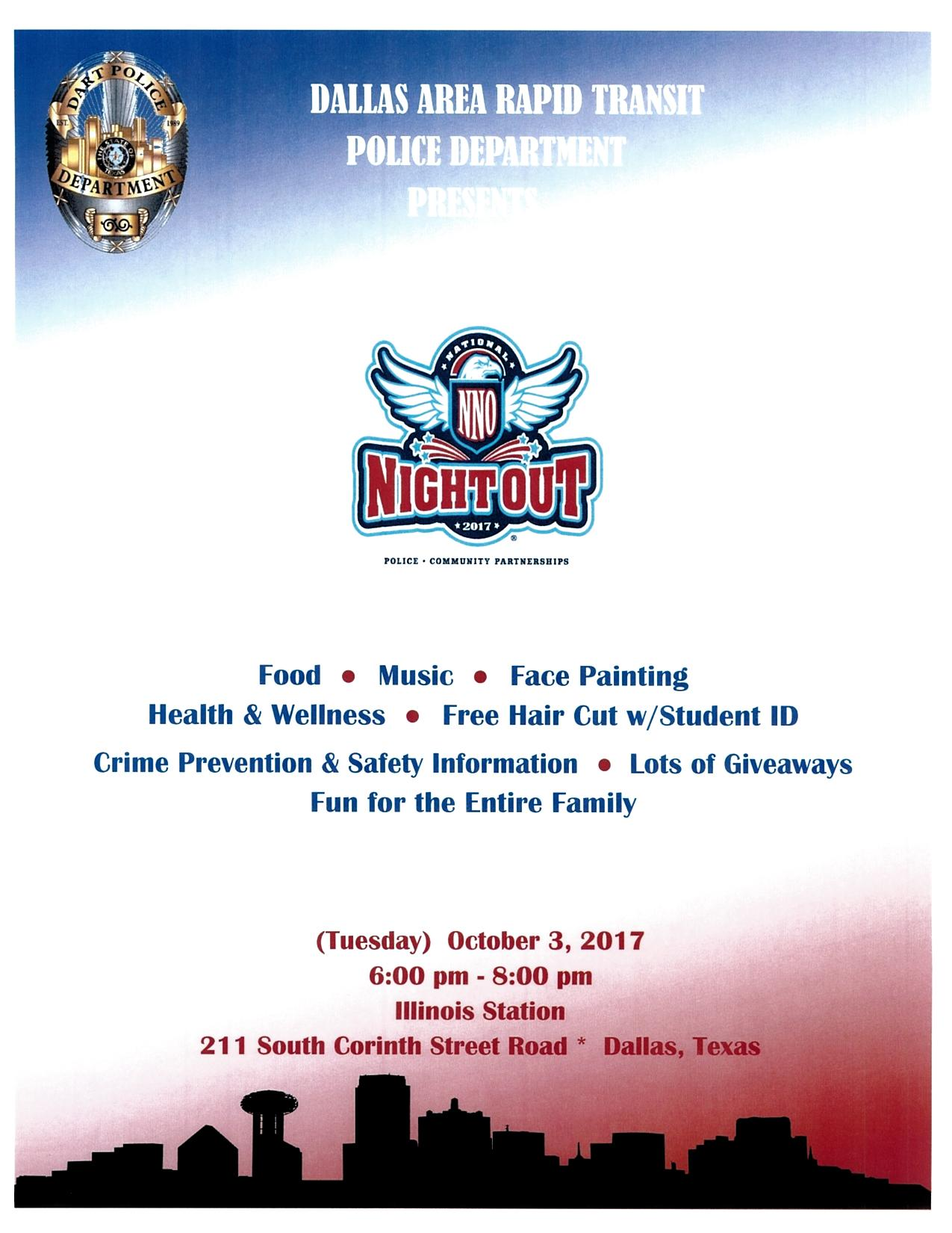 National Nigh Out Flyer