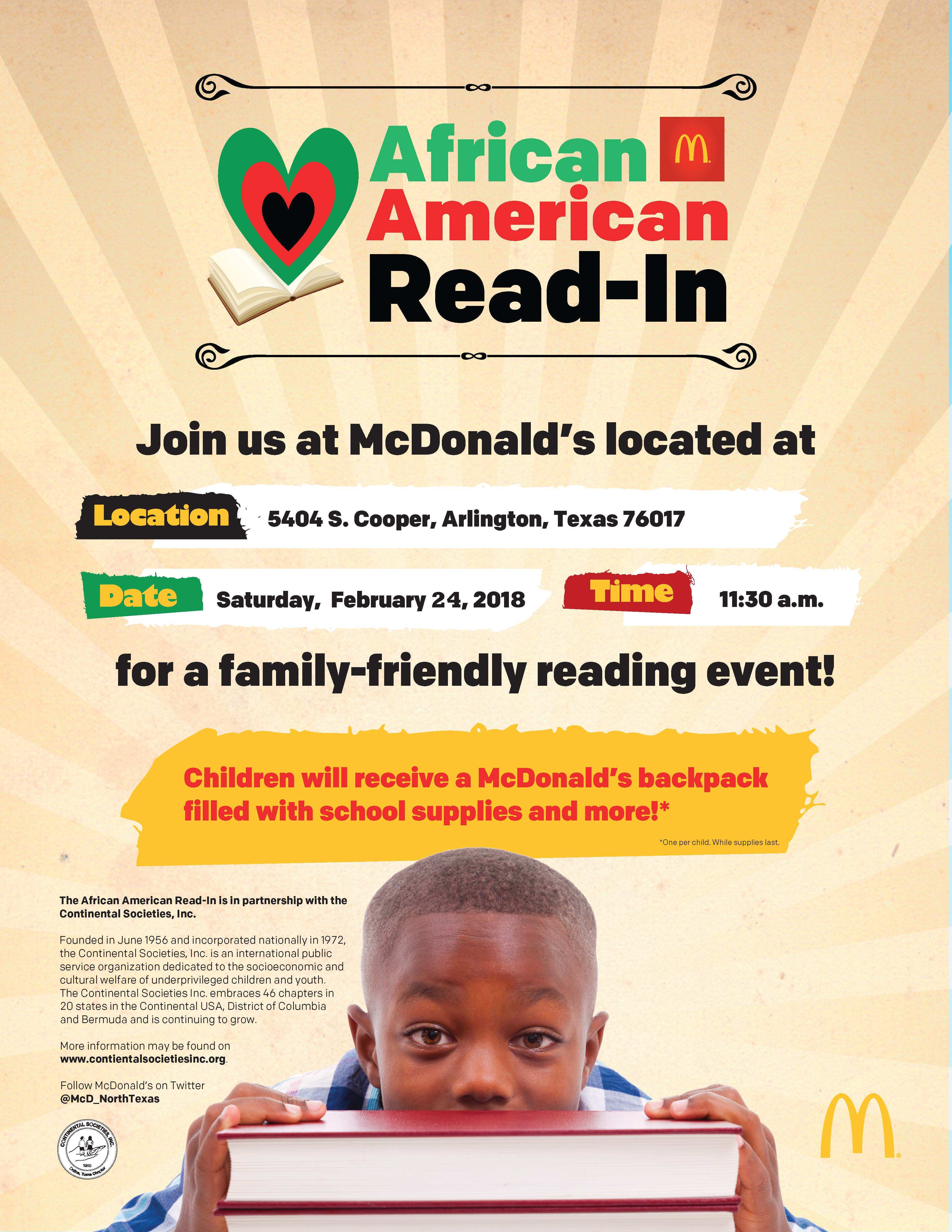 African Am Read-In 2.24.18