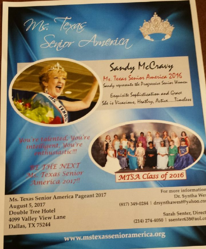 Ms Texas Sr Ameica Pageant