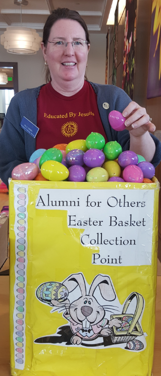 Alumni for Others Easter Basket Collection and Assembly