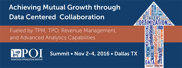 Achieving Mutual Growth through Data Centered Collaboration Summit