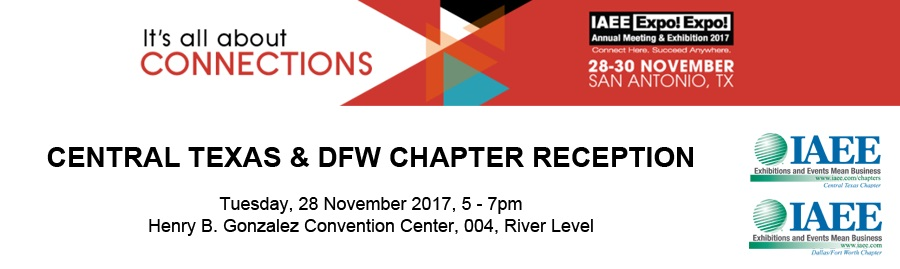 IAEE Central Texas and DFW Chapter Reception Sponsorship