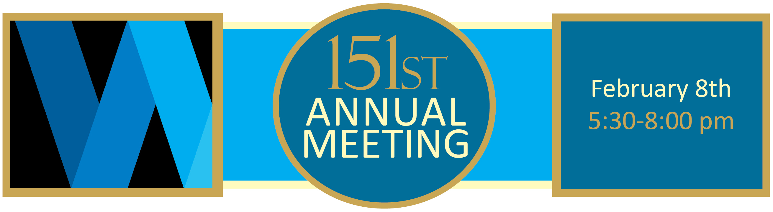 151st Annual Meeting Banner