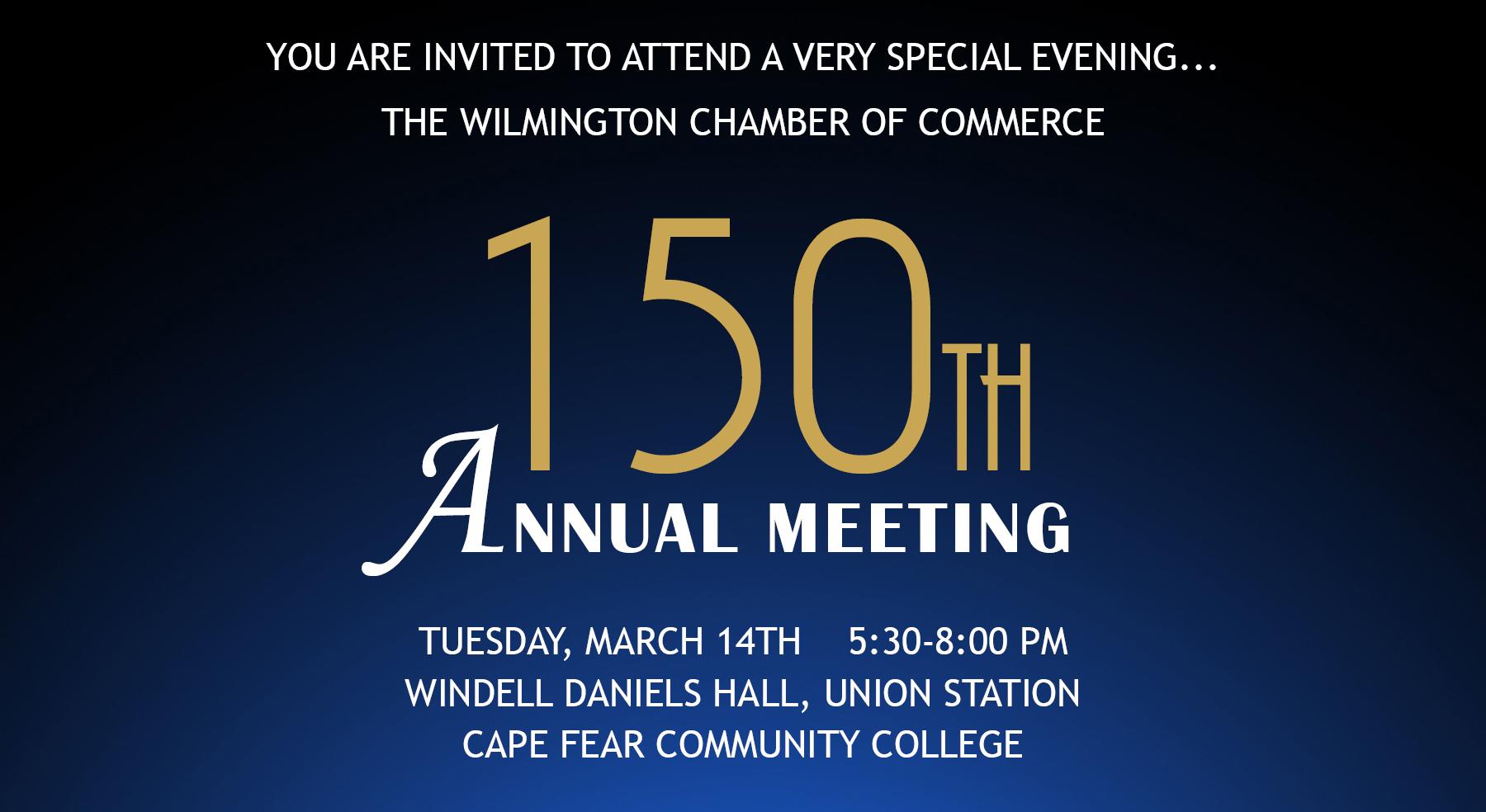 150th annual meeting