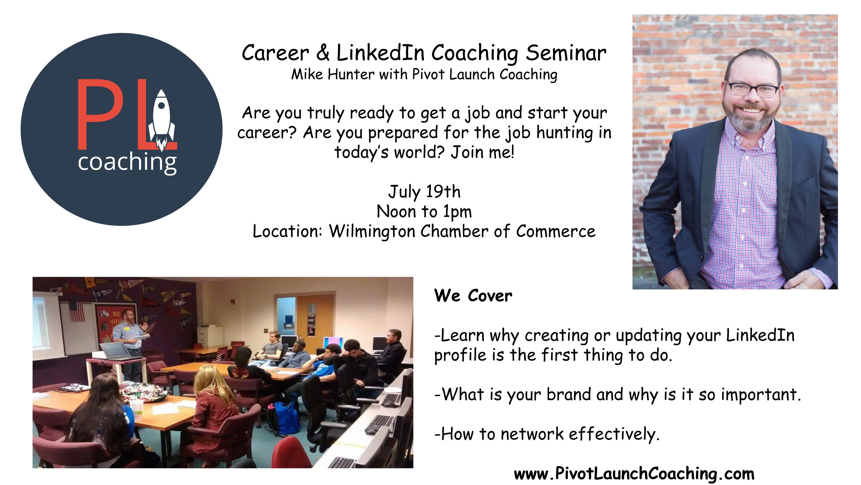 Mike Hunter seminar