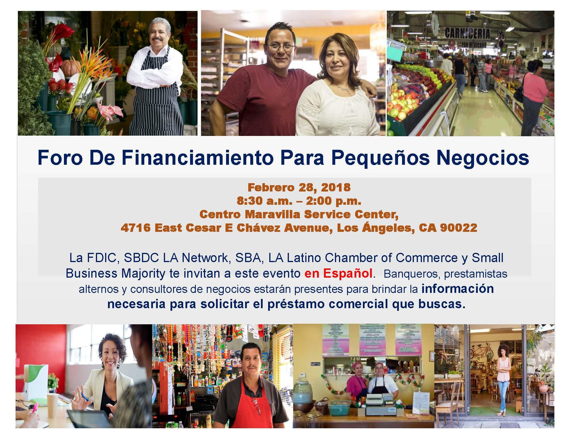 Summary Foro Financiamiento Pequenos Negocios - Sp