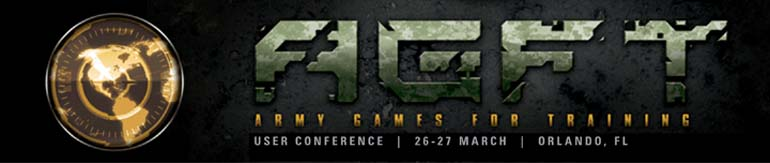 Army Games for Training User Conference 2012