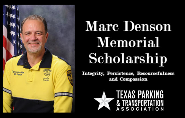 Marc Denson Scholarship Application
