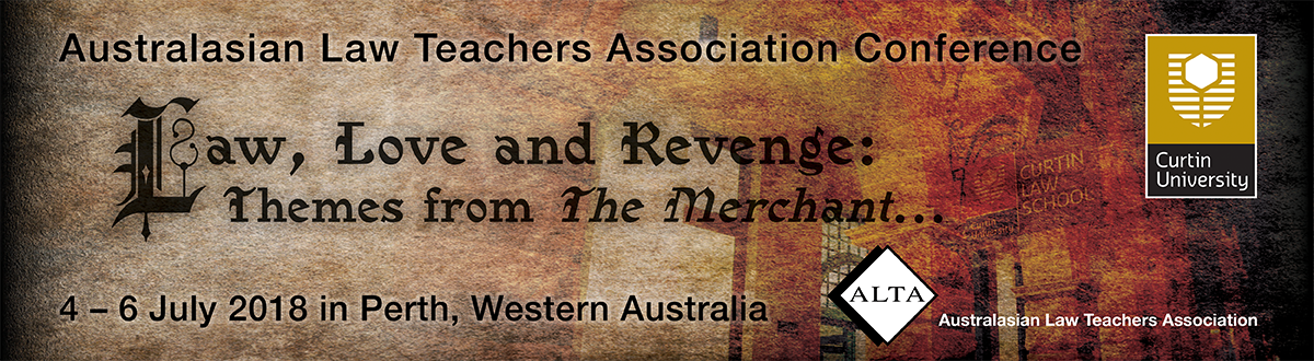 Australasian Law Teachers Association 2018 Conference