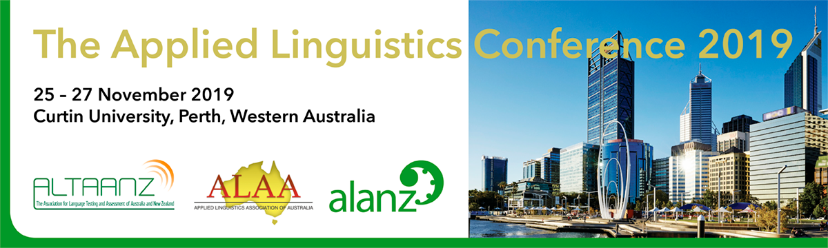 The Applied Linguistics Conference 2019