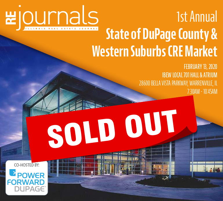1st Annual State of DuPage County & Western Suburbs CRE Market