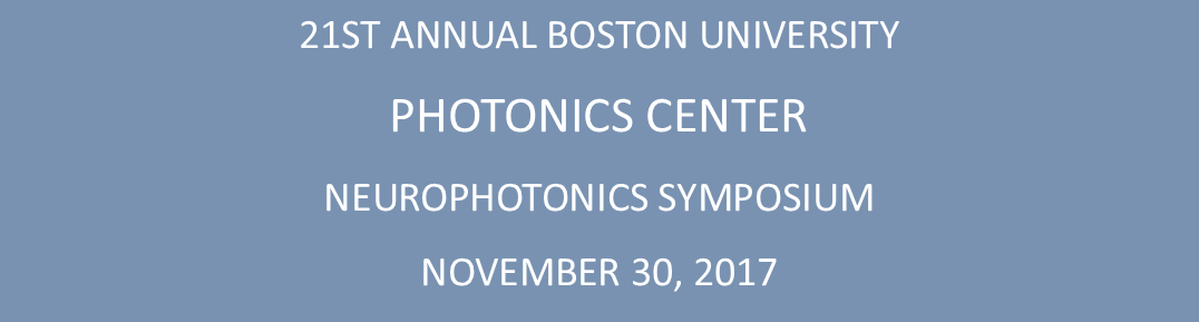 21st Annual Photonics Center Neurophotonics Symposium