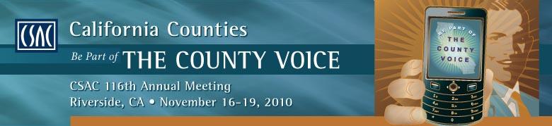 CSAC 116th Annual Meeting