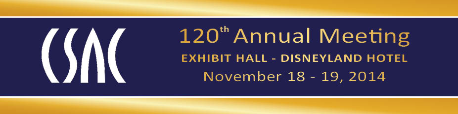 EXHIBIT HALL - CSAC 120th  Annual Meeting