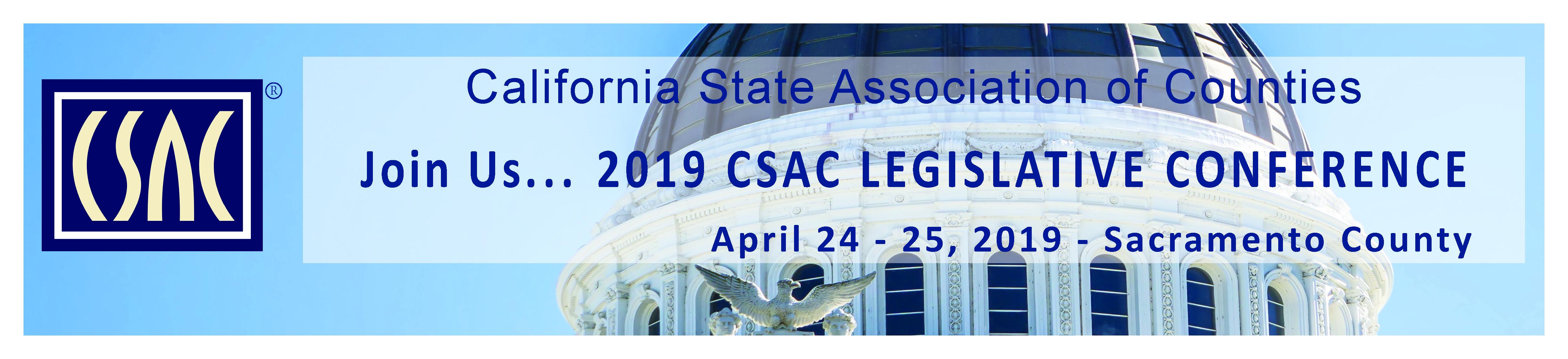 CSAC 2019 Legislative Conference