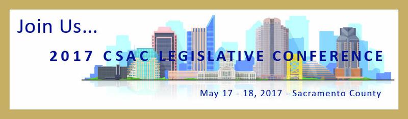 CSAC 2017 Legislative Conference