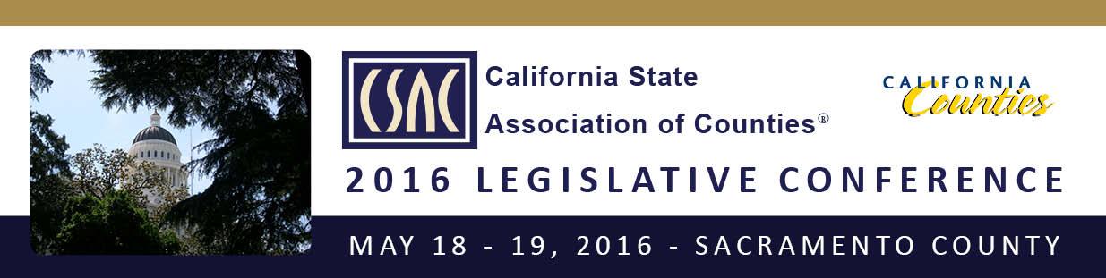 CSAC 2016 Legislative Conference