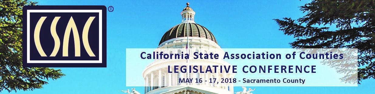 CSAC 2018 Legislative Conference