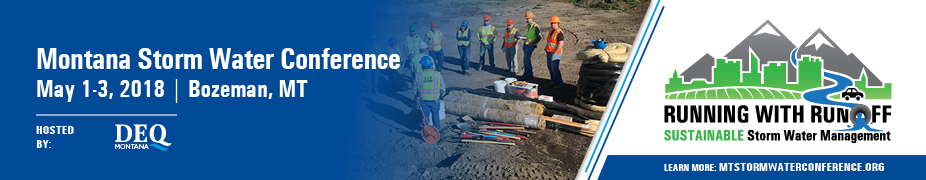 2018 Montana Storm Water Conference