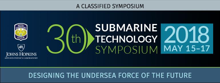 Submarine Technology Symposium 2018