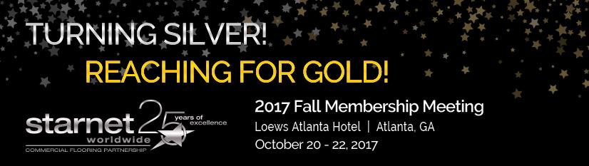Starnet 2017 Fall Membership Meeting