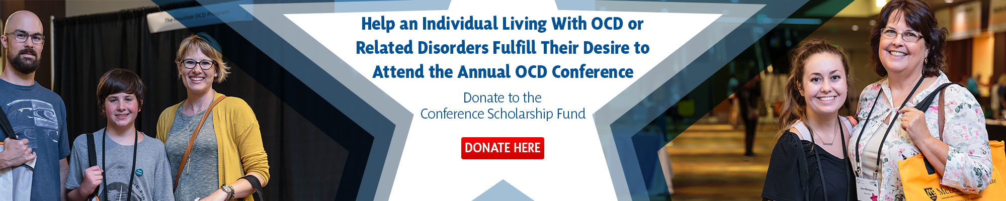 Donate to the Annual OCD Conference Scholarship Fund