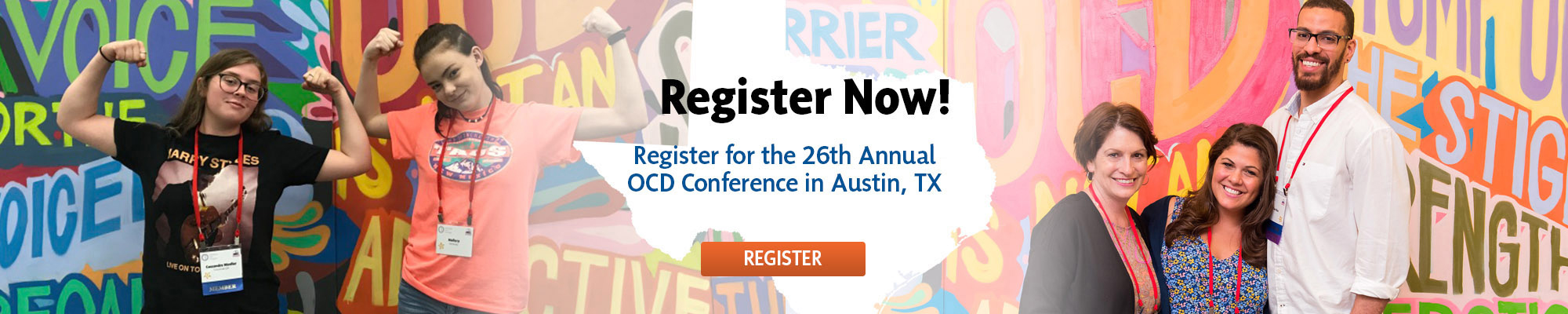 Register or the 26th Annual OCD Conferece