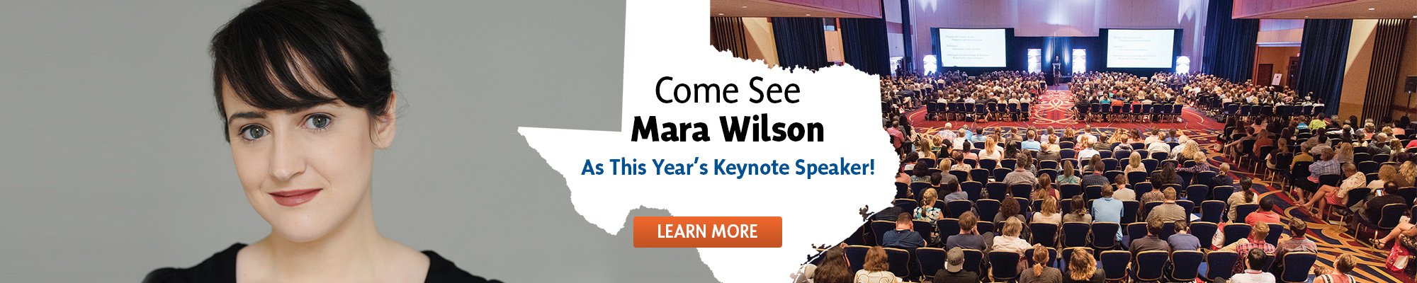 Come See Mara Wilson at this year's Keynote!