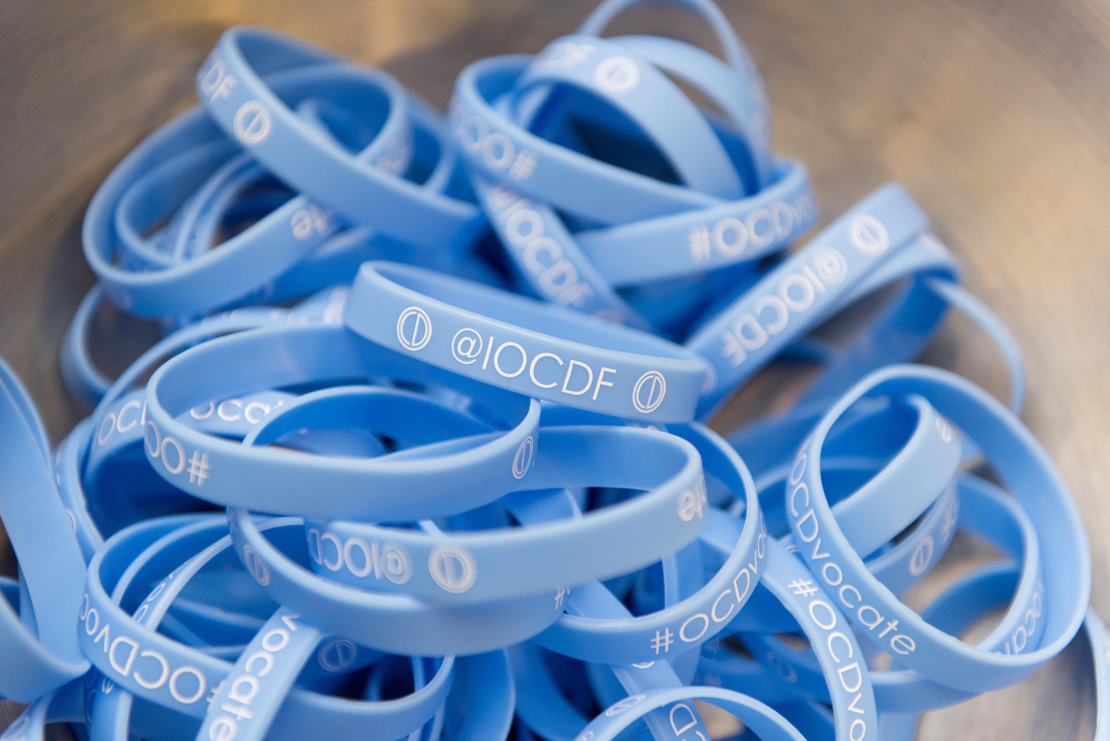 IOCDF Booth Bracelets