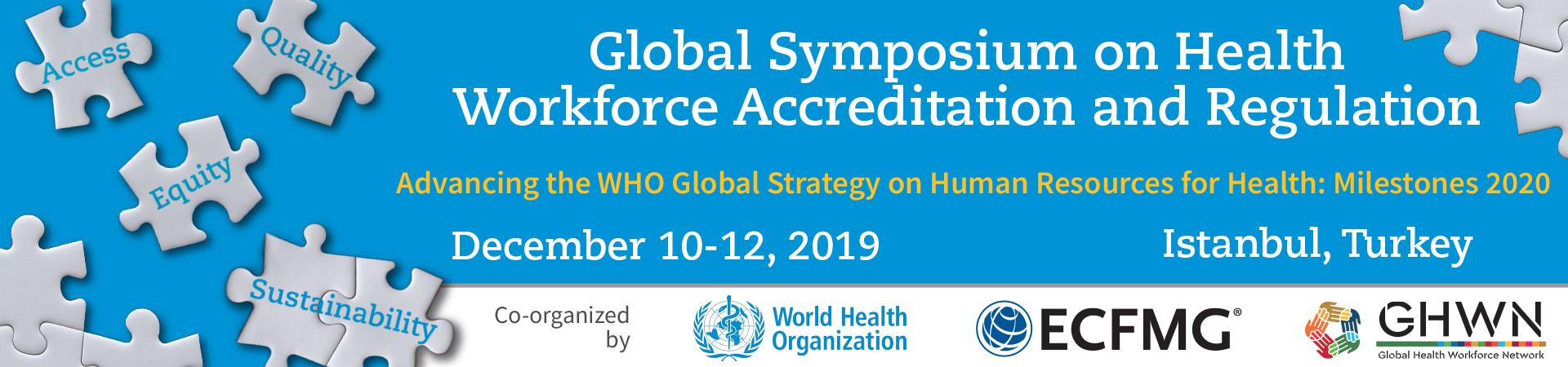 2019 Global Workforce Symposium on Accreditation and Regulation
