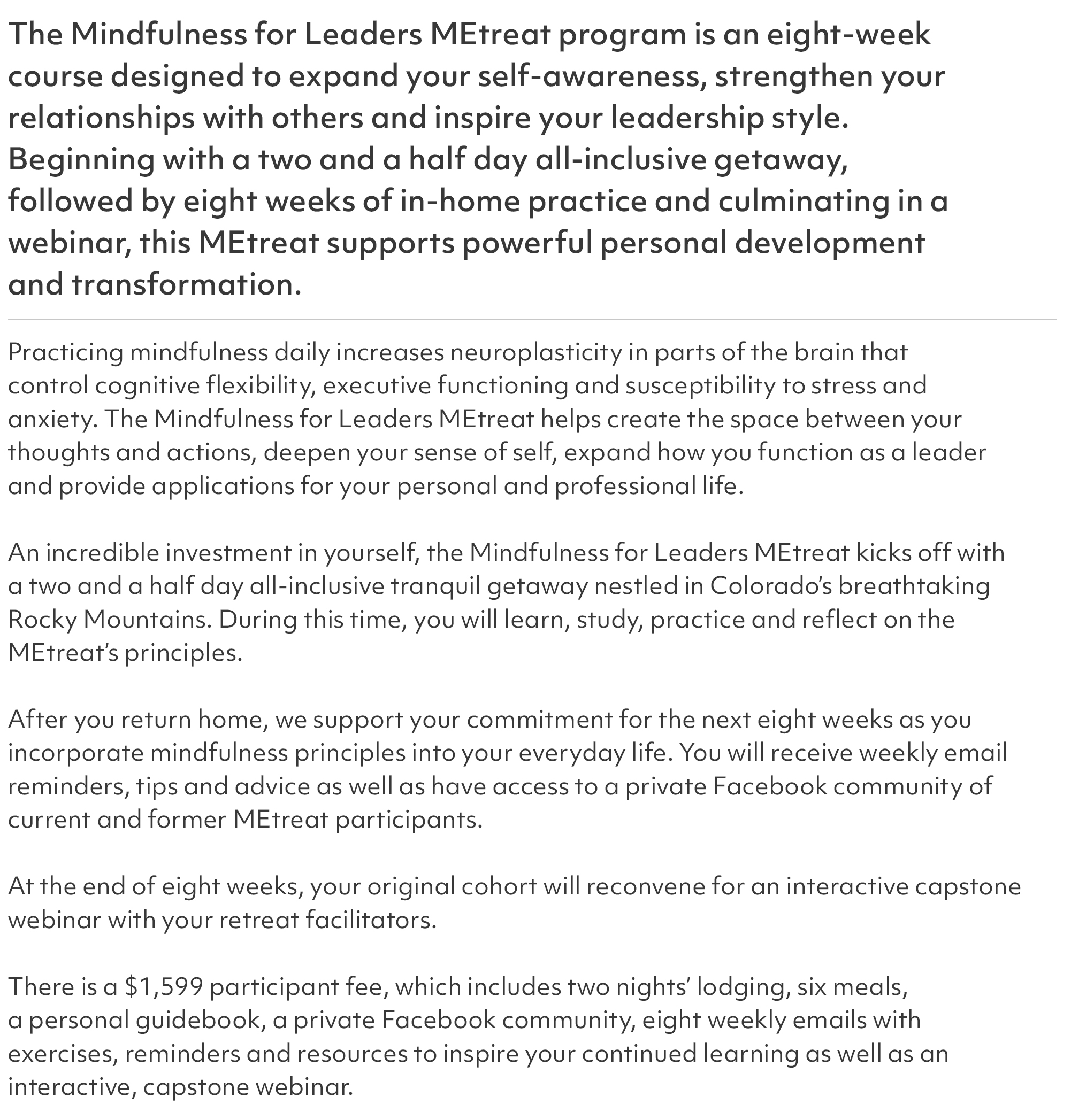 Mindfulness Summary 2